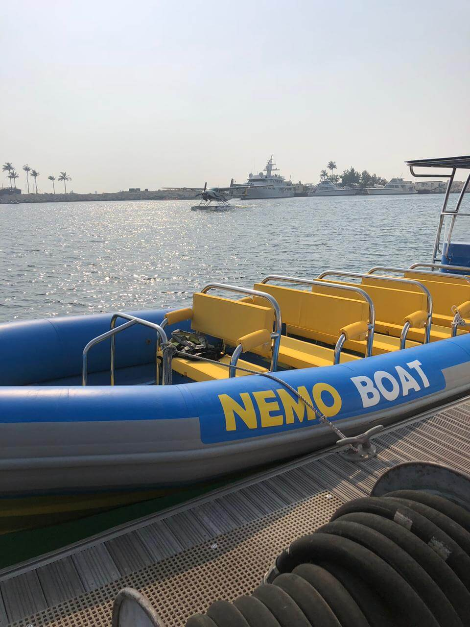 Boat tour in Dubai from Nemo Boat