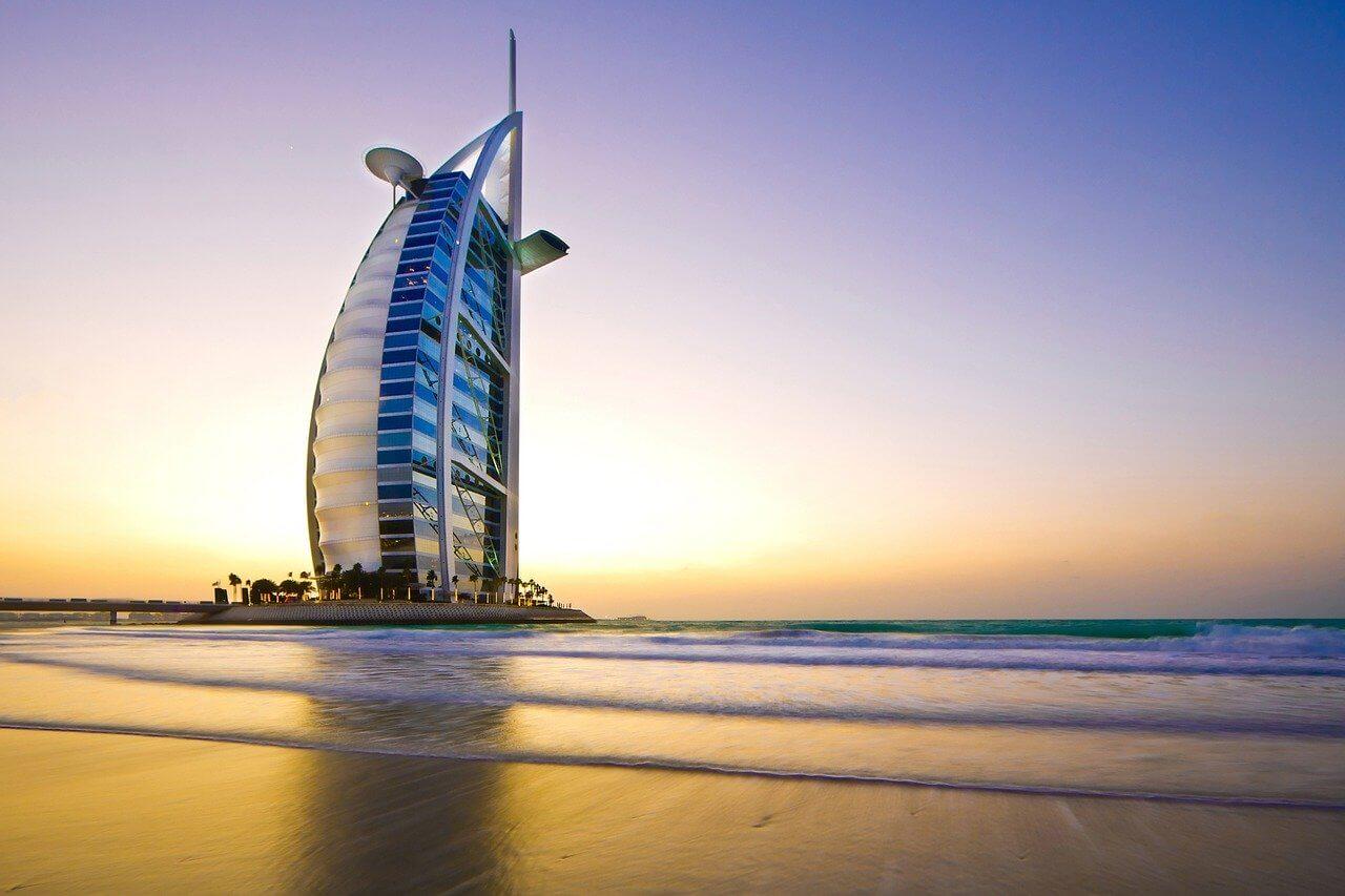 Visiter l'hôtel Burj Al Arab à Dubaï