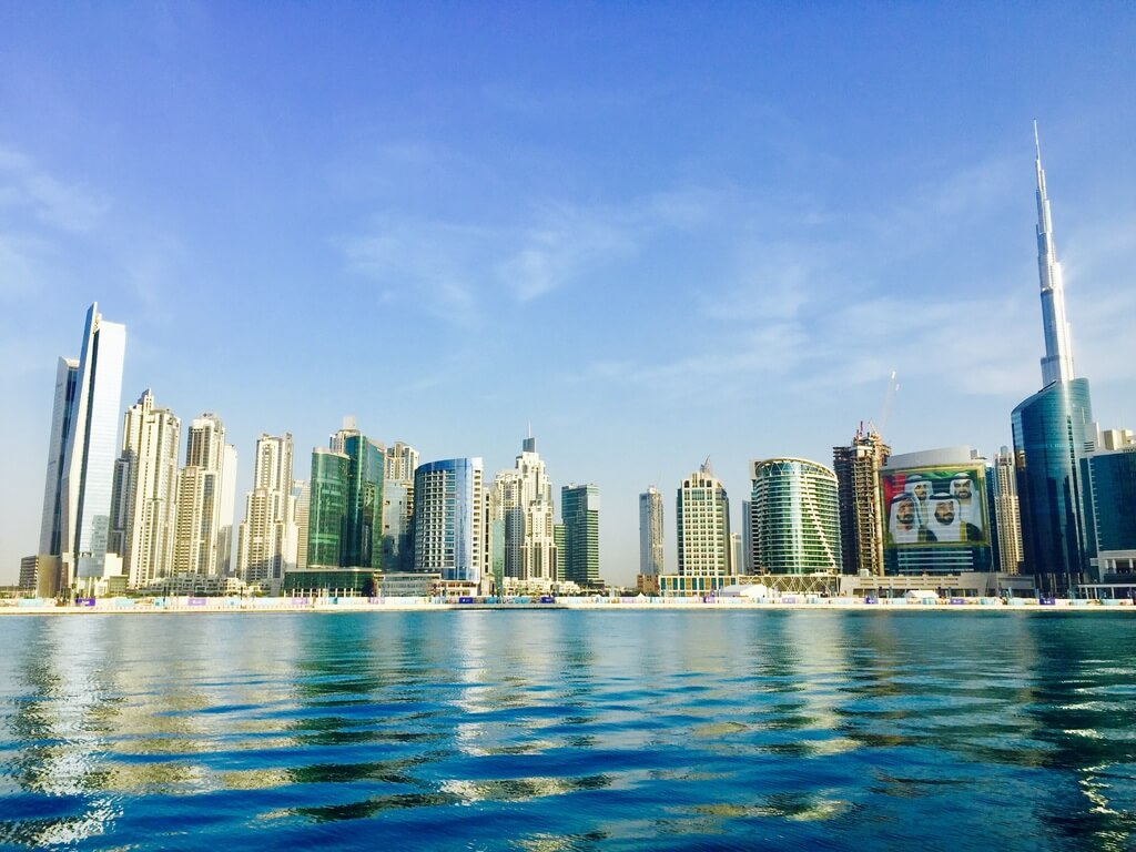 A boat tour from Dubai Marina