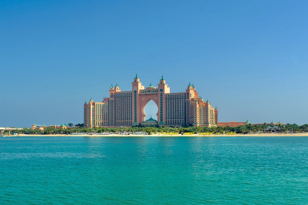 Visiter l'hôtel Atlantis The Palm à Dubaï