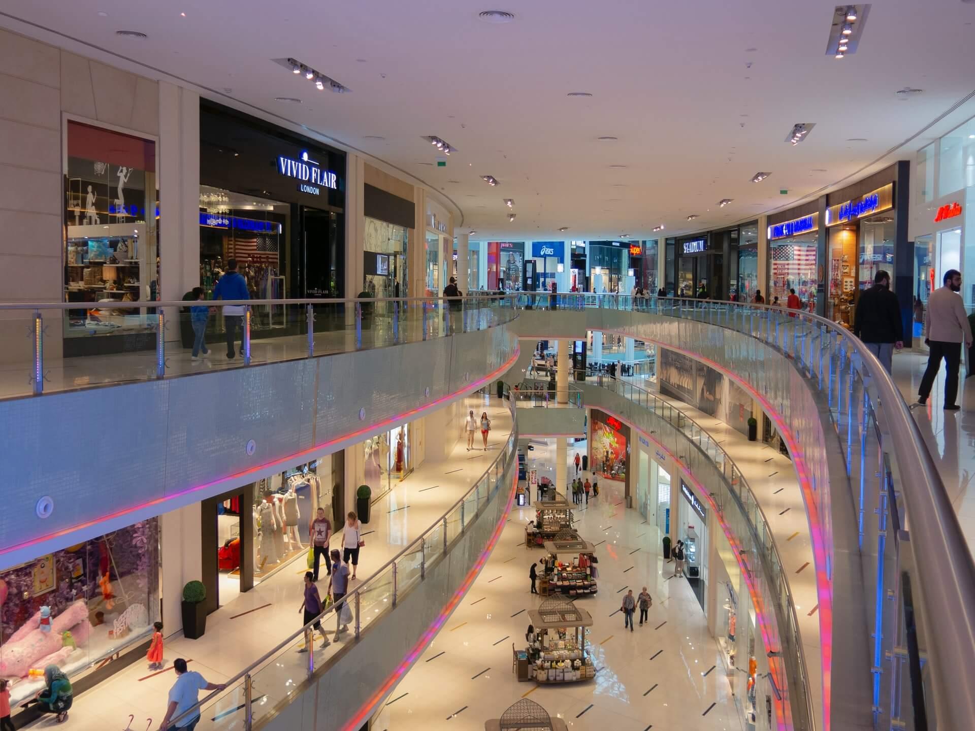 Les 5 principaux centres commerciaux de Dubaï à faire !